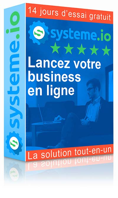 Systeme.io, le package marketing web
